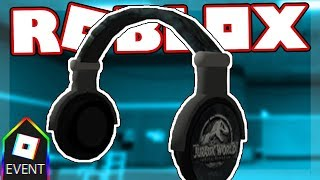 [GLITCHED EVENT] HOW TO GET THE JURASSIC WORLD HEADPHONES | Roblox