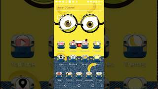 yellow minions theme for your love