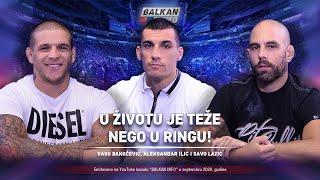AKTUELNO: Vaso Bakočević, Aleksandar Ilić i Savo Lazić - U životu je teže nego u ringu! (13.9.2020)
