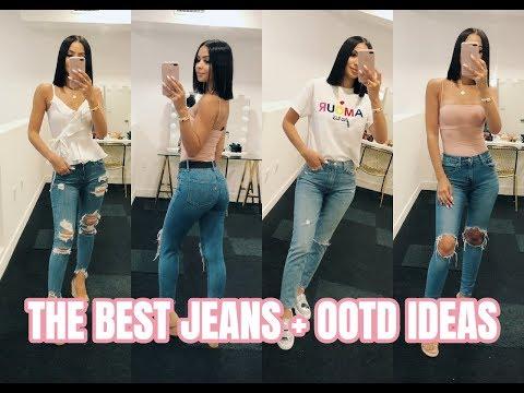 THE BEST JEANS + EVERYDAY OOTD IDEAS | Diana Saldana
