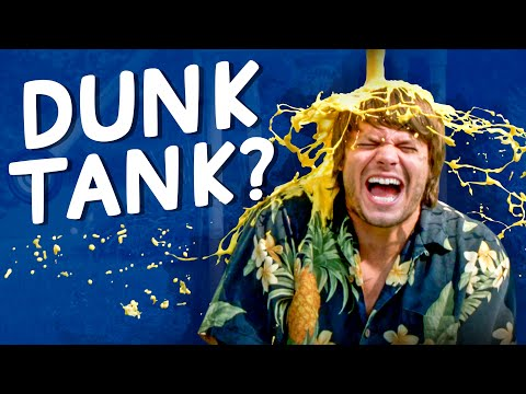 What Would You Fill a Dunk Take With? Poop Spray, Butter, and More!