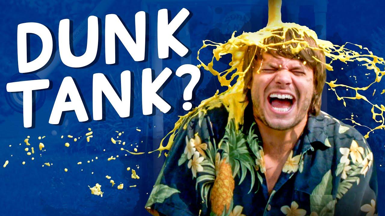 We Got Weird with This Mini Dunk Tank!