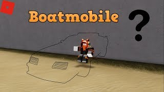 Invisible Boatmobile, What car is it? | ROBLOX: Vehicle Simulator