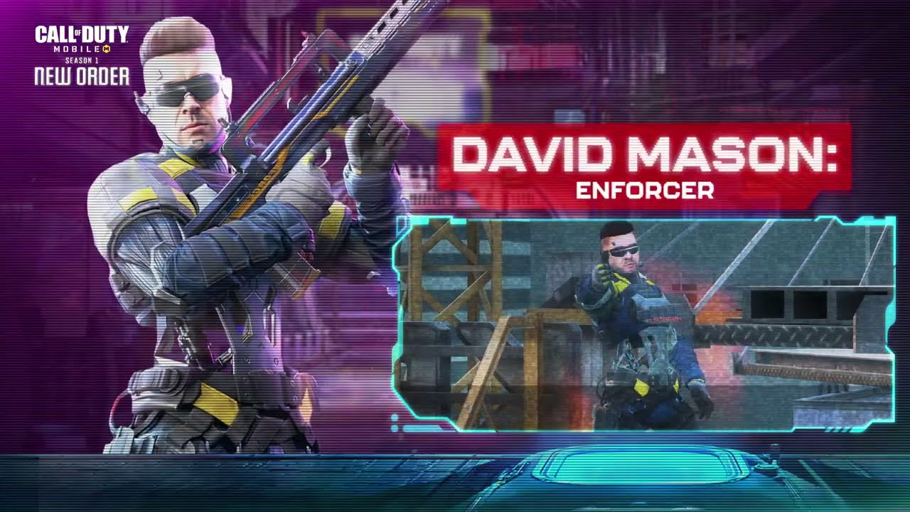 Call of Duty®: Mobile - David Mason - Enforcer | S1 Highlight