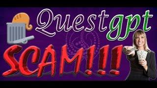 QuestGPT полный обзор и стратегия развития аккаунта. (SCAM!!!) Video