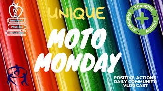 MoTo Monday! Week 4/Sept 28:  Positive Action Word of the Week: UNIQUE / ÚNICO:ÚNICA!