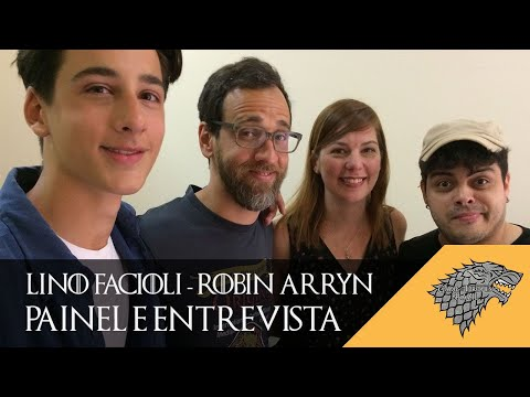 Entrevista e Painel com Lino Facioli (Robin Arryn) na Junta Geek | Game Of Thrones