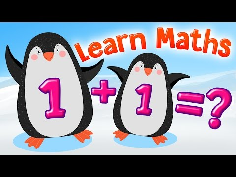 Learn Addition up to 10 | Addition 1 to 9 | Math for Kindergarten & 1st Grade | Kids Academy
