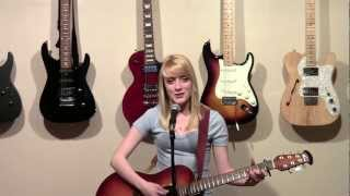 A place in this world singing and playing guitar cover by Amanda listman