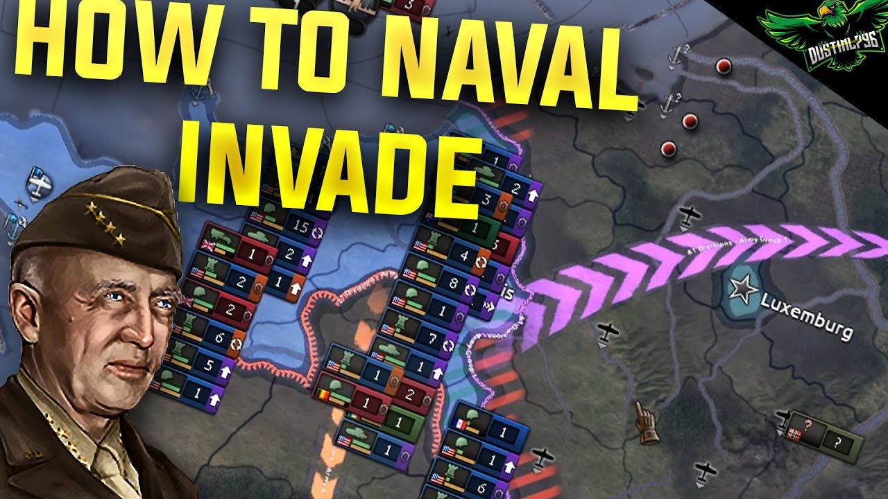 HOI4 How to Naval Invade (Hearts of Iron 4 Man the Guns Guide)