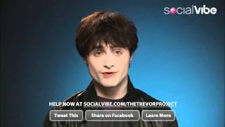 Daniel Radcliffe PSA for Socialvibe.com & The Trevor Project