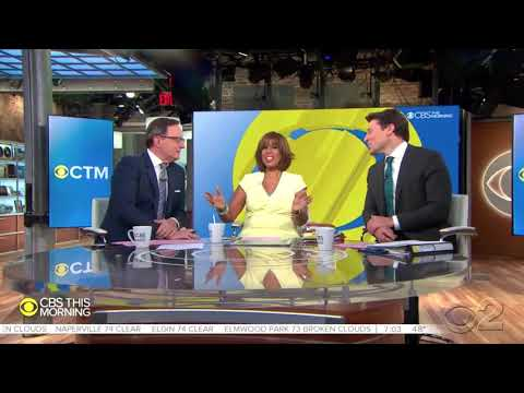 """CBS This Morning"" New Graphics and Open"
