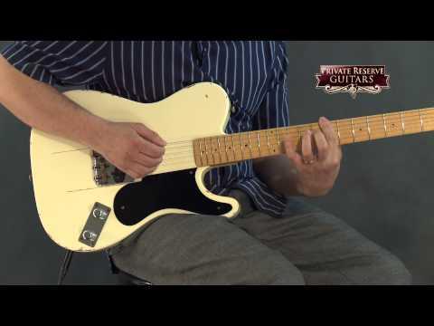 Fender Custom Shop 60th Anniversary Series Snake Head Telecaster Electric Guitar