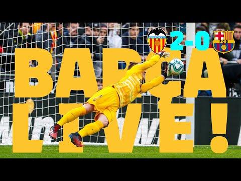 ⚽ Valencia 2 - 0 Barça   BARÇA LIVE: Warm Up & Match Center #ValenciaBarça