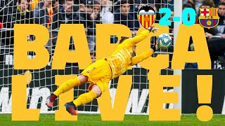 ⚽ Valencia 2 - 0 Barça | BARÇA LIVE: Warm Up & Match Center #ValenciaBarça