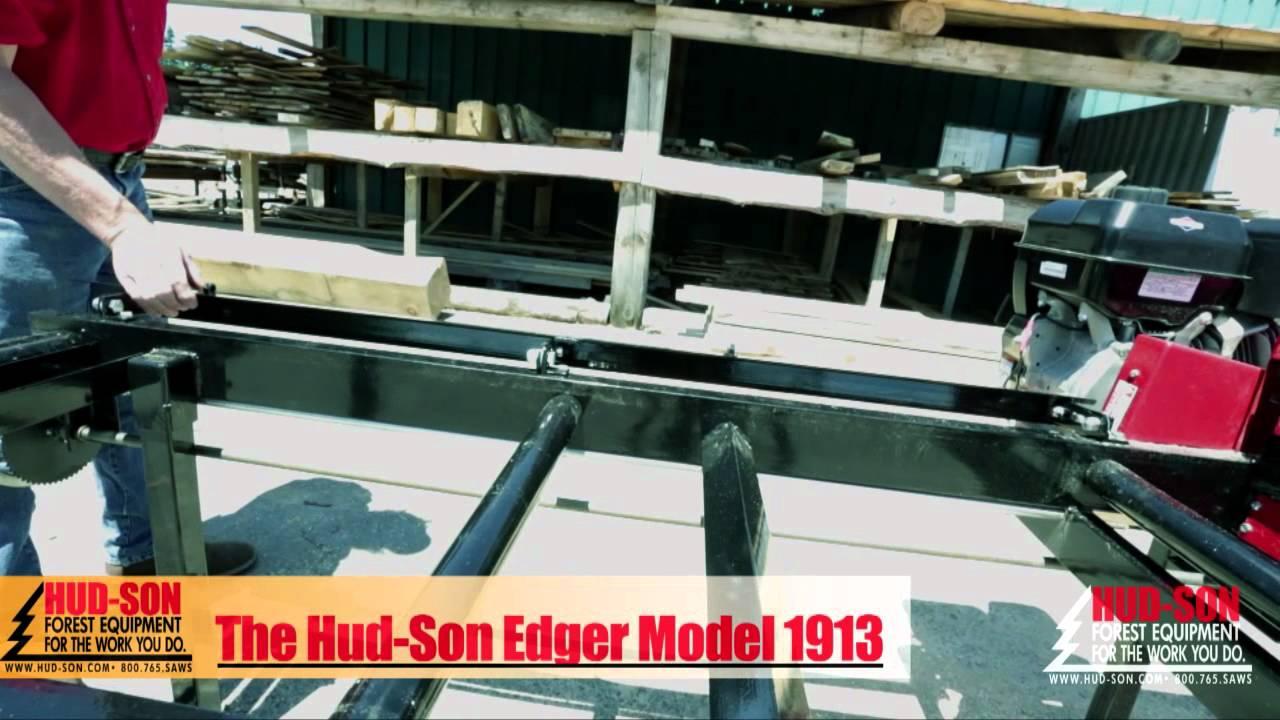 2013 HUDSON Board Lumber Edger Portable Sawmill Edging ...