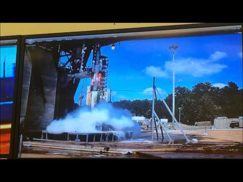 Space Launch System sound test