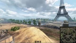 ПАРИЖ - Обзор Новой Карты World of Tanks 9.16