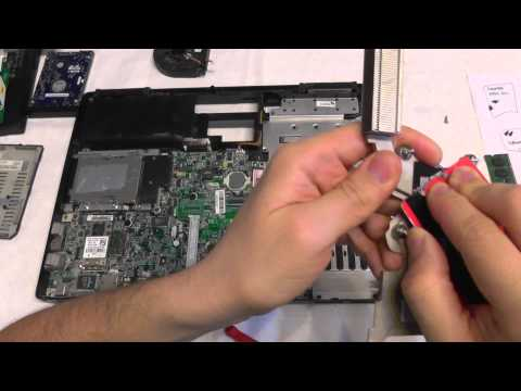 Dell Inspiron 1501 CPU Cooler Cleaning & Thermal Paste Replacement