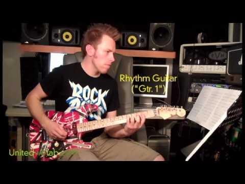 Van Halen - Runnin' with the Devil Guitar Cover