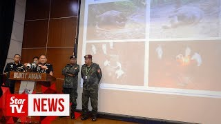 Ten poachers detained, almost RM1mil worth of wildlife parts seized