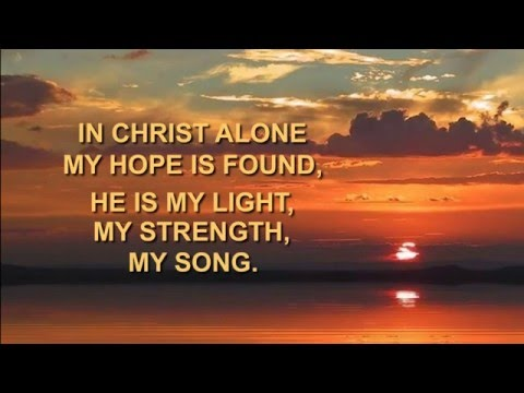 In Christ Alone - Newsboys w/lyrics