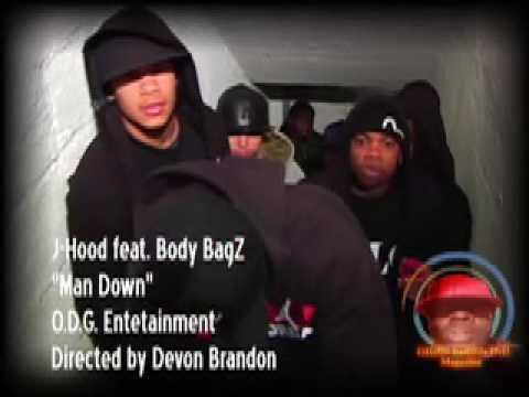 J-Hood (Feat. Body Bagz) - Man Down [Dissin D Block]