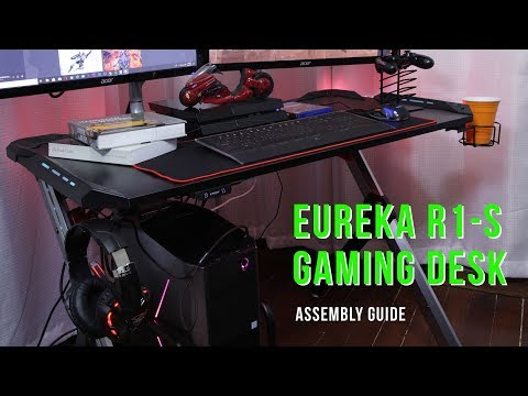 eureka-r1-s-gaming-desk---assembly-and-unboxing