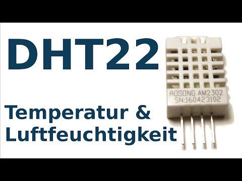 Temperatur Und Luftfeuchtigkeit Mit Dem Arduino Messen: Der Sensor DHT22