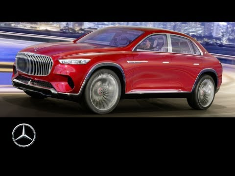 Vision Mercedes-Maybach Ultimate Luxury | Auto China 2018