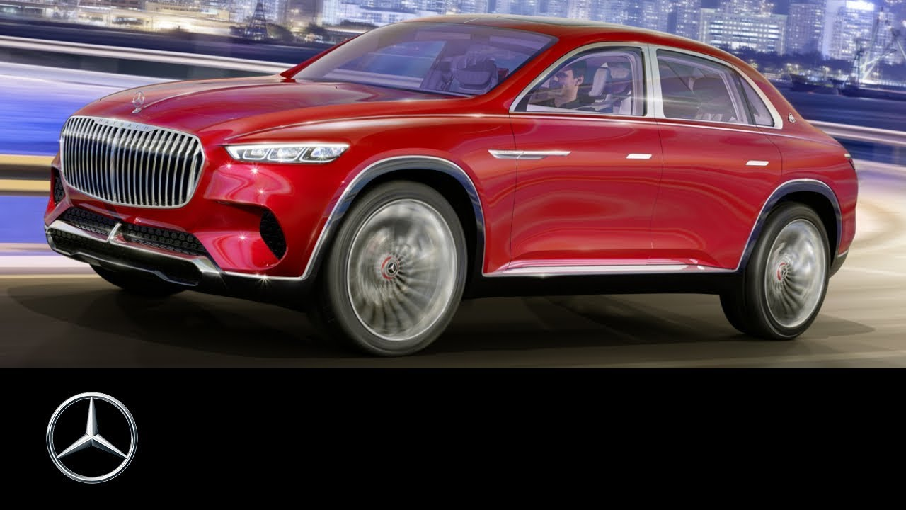 Vision Mercedes Maybach Ultimate Luxury Auto China 2018 Youtube