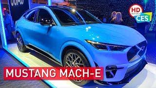 Ford Mustang MACH-E: SUV elettrico da 600 km al CES 2020