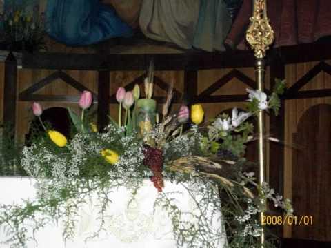 Chiesa La Muddizza Addobbo Pasquale  YouTube