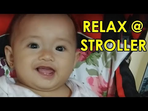 Vlog #12 – Baby Alianna Rose in IRDY Stroller Red bought in Lazada