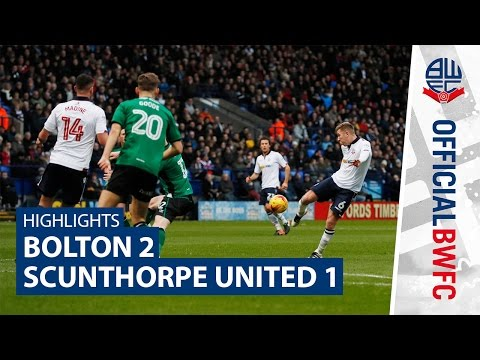 HIGHLIGHTS | Bolton 2-1 Scunthorpe United