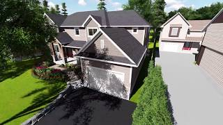 Nauta Home Designs - GTA Bungalow to Two Storey Transformation