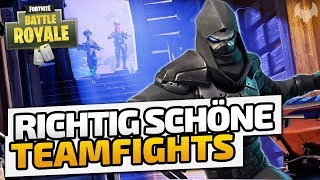 Richtig schöne Teamfights - ♠ Fortnite Battle Royale ♠ - Deutsch German - Dhalucard