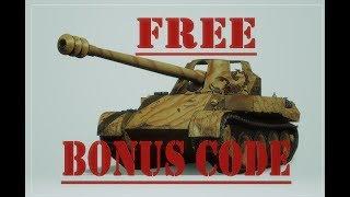 Wot bonus code 2019 free premium account