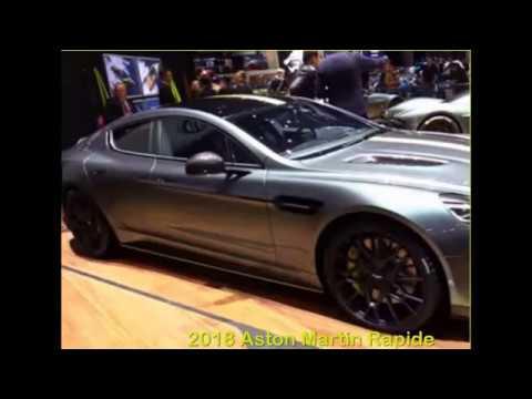Aston Martin 2018 2018 Aston Martin Rapide Amr Interior Exterior