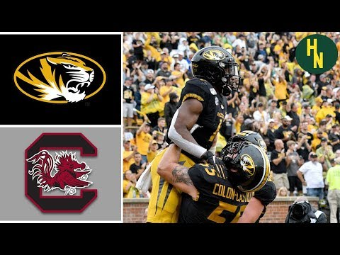 NCAAF Week 4 South Carolina vs Missouri College Football Full Game Highlights