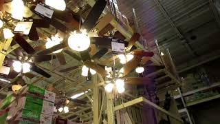 Ceiling Fans at Home Depot 2018