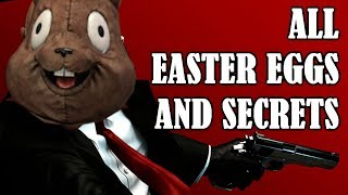 Hitman Absolution All Easter Eggs And Secrets HD