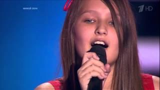 Анна Мошкорина - Металлика - Nothing Else Matters [Голос Дети 3 2016]