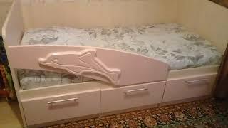 видео Детская кровать