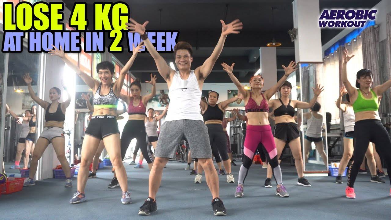 Lose 4 Kg At Home In 2 Week With This Workout l 48 Mins Aerobic Exercises Easy l Aerobic Workout