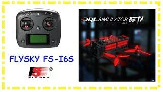 Free FPV Simulator -  DRL Simulator + Flysky FS-i6S