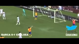 Barcelona vs Chelsea 2-2 All Goals 2015