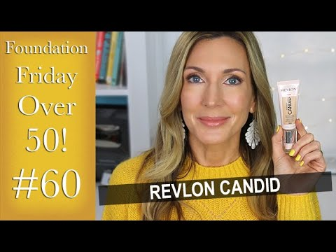 Foundation Friday Over 50 | Revlon Candid! thumbnail