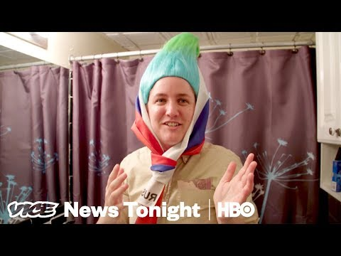 """Why This Person Dressed As A """"Russian Troll"""" At Zuckerberg's Testimony (HBO)"""