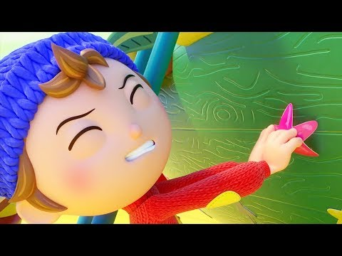 Noddy Toyland Detective | Case of the Blue Wall | Compilation | Full Episodes | Videos For Kids